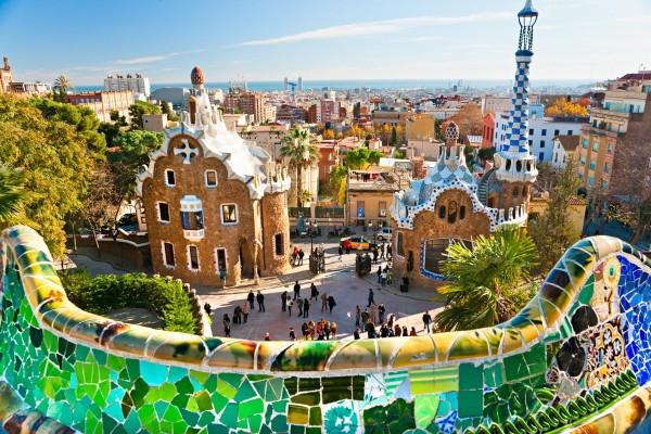 Парк_Гуэля,_Барселона