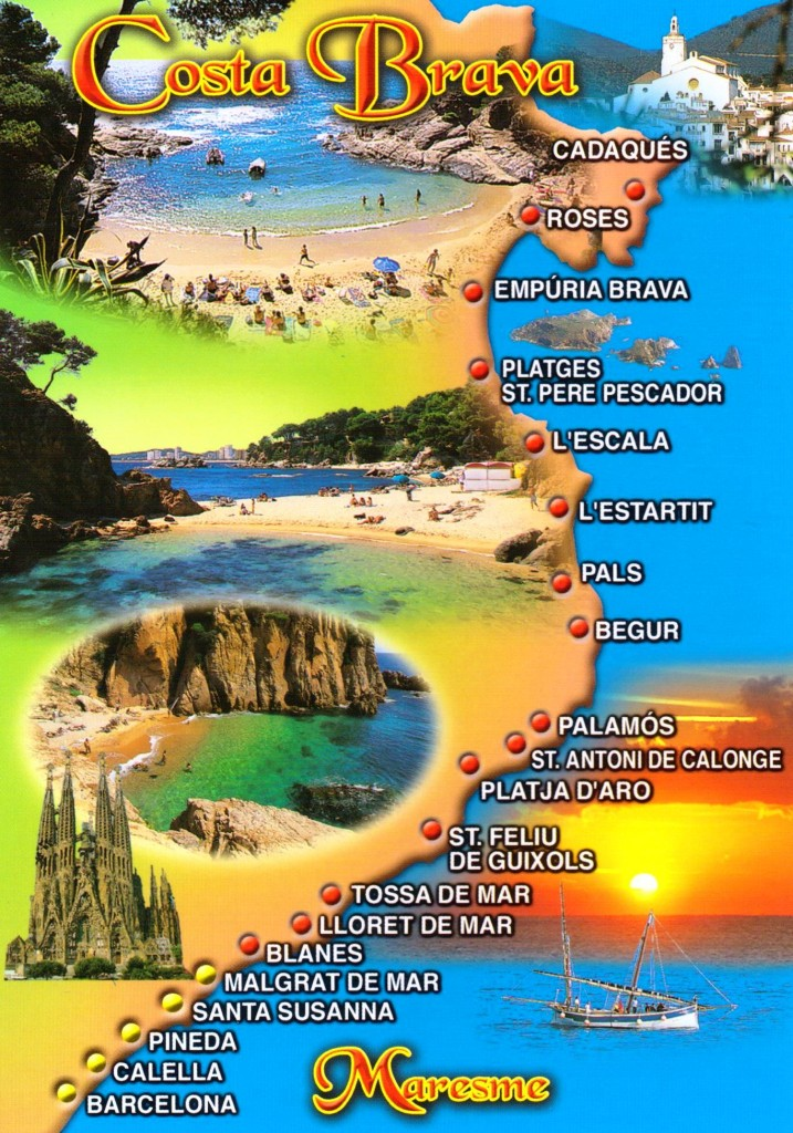 курорты побережья коста-брава