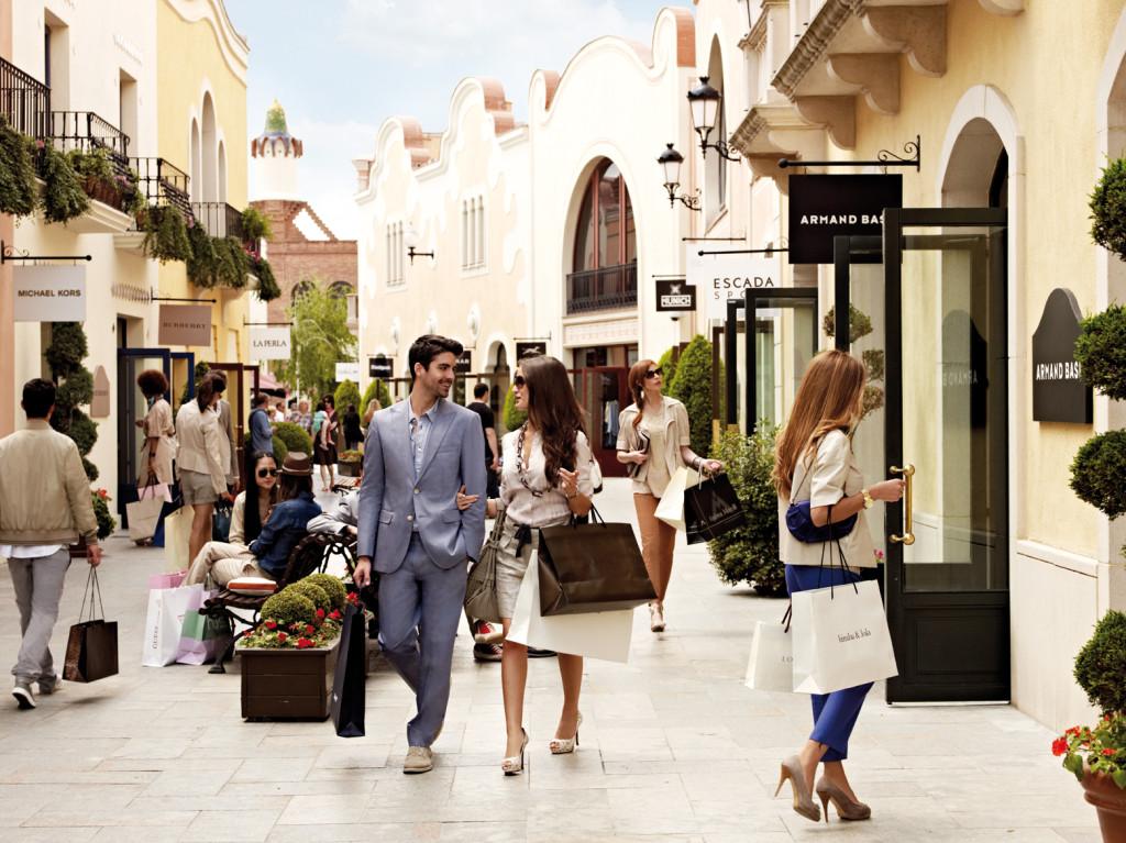 шопинг в испании