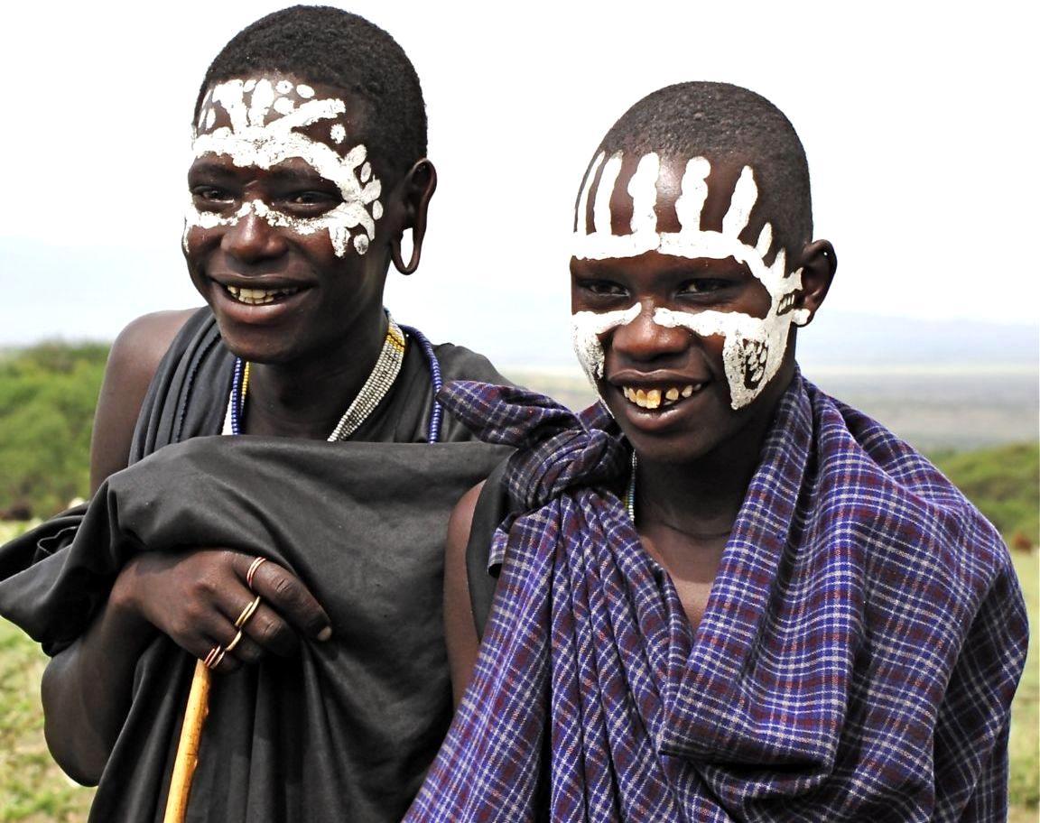 население танзании