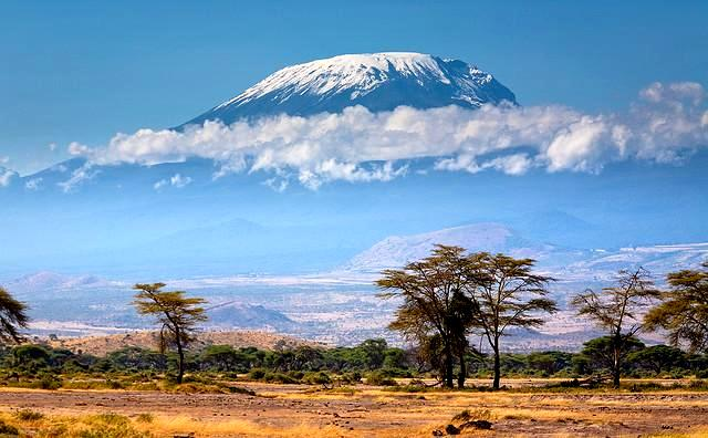 гора килиманджаро танзании