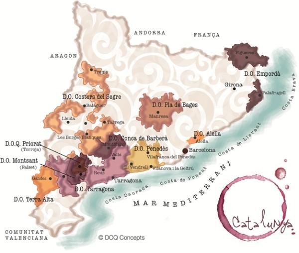 вина каталонии