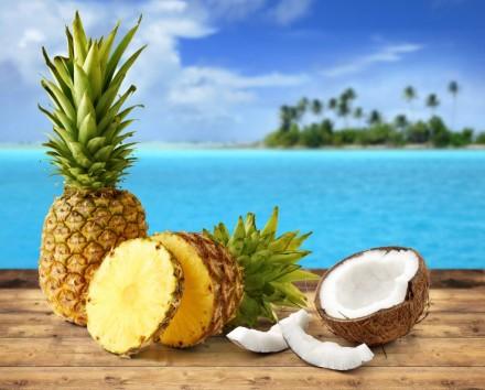 ананасы и кокосы