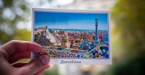 открытки испания